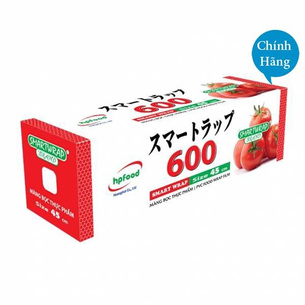 Màng bọc thực phẩm Smart Wrap 45cm x 600 kèm dao nhựa - Công nghệ Nhật