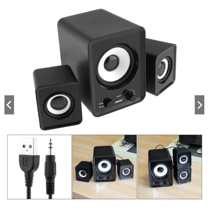[ BH 12 tháng ] Bộ 3 Loa Máy Tính PC Cao Cấp 2.1 - Loa vi tính Âm Bass to, tương thích điện thoại, máy tính, laptop