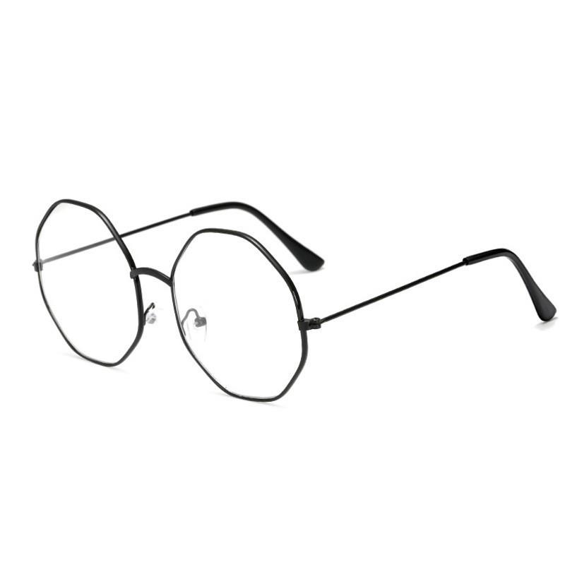 แว่นตาแฟชั่นกรอบแว่นตาแบบแบนสำหรับ Unisex