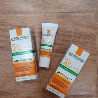 Kem chống nắng La Roche Posay kiểm soát dầu Anthelios XL Anti-shine Dry Touch SPF 50+ UVB & UVA 3ml