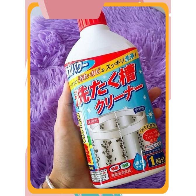 [Cực_Sốc] Sản phẩm chai nước tẩy lồng máy giặt 400ml