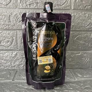 Siêu rẻ Chính hãng Hấp phục hồi tóc Collagen Berdywins Argan Oil 500ml thumbnail
