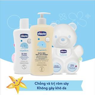 [CHÍNH HÃNG] Sữa tắm gội Chicco chai 200ml và 500ml cho bé thumbnail