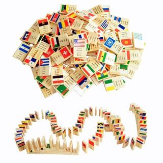 Đồ chơi 100 quân domino cờ các quốc gia