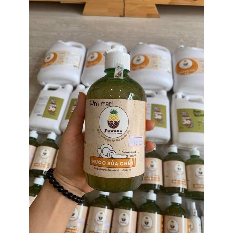 [100% THIÊN NHIÊN] Nước rửa chén sinh học từ vỏ trái cây Fuwa-3e
