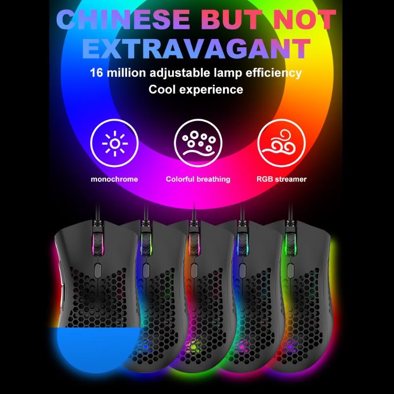Chuột Gaming M7 Siêu Nhẹ Với Dây Buộc