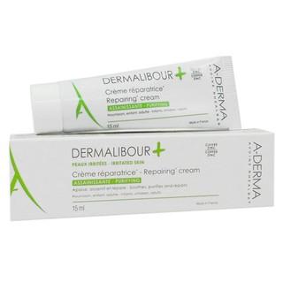 Kem phục hồi dịu da và kháng khuẩn Dermalibour + Repairing Cream A-Derma 15ml thumbnail
