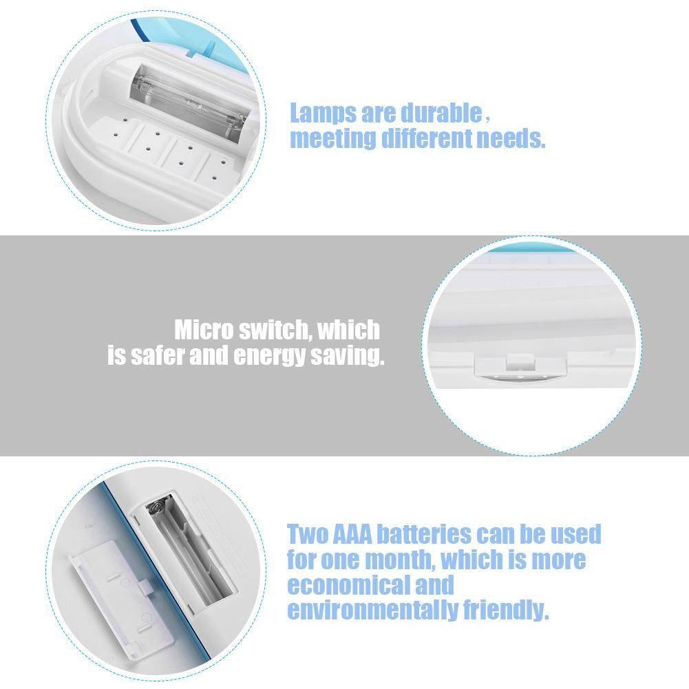 Máy khử trùng bàn chải đánh răng tia UV