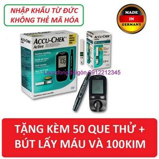 Máy đo đường huyết Accu chek Active Tặng ngay 50 test thử