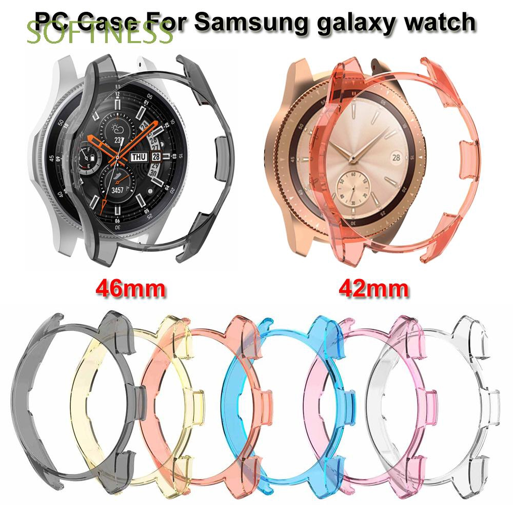 Ultra Slim Replacement Smart Watch Colorful Clear PC Case  For Samsung Galaxy Watch 42mm 46mm Gear S3 Frontier