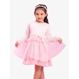 Đầm ren tay dài phối lưới bé gái AmPrin D569-D570 thumbnail