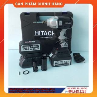 [HÀNG CAO CẤP] Máy siết bulong Hitachi 88V 2 Pin 15000 mAh – Tặng 1 đầu chuyển vít, khẩu 22 [CAM KẾT CHÍNH HÃNG]