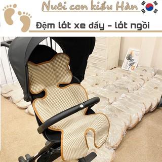 Có quà tặng kèm Nệm Lót Xe Đẩy Đa Năng Hàn Quốc, Tấm lót xe đẩy 3D thumbnail