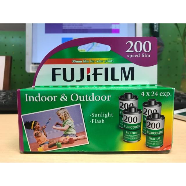 1 pack 4 cuộn film Fuji Xperia 200 date 2019