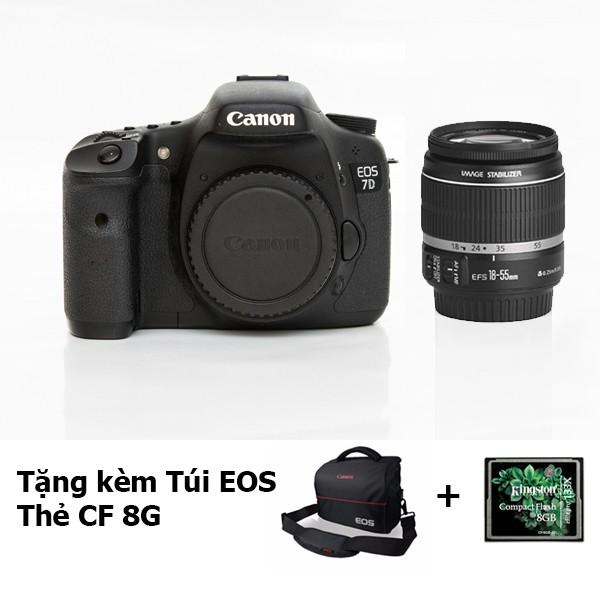 Máy Ảnh CANON 7D& Lens Canon 18-55 IS