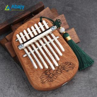GECKO 8 Keys Finger Kalimba Thumb Piano Portable Beginners Keyboard Marimba Wood Musical Instrument