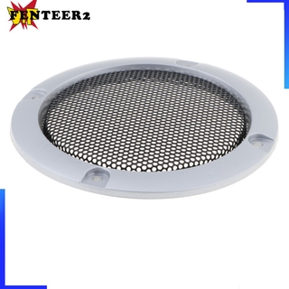 3 inch Audio Speaker Cover Decorative Circle Metal Mesh Grille gold