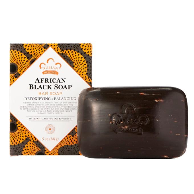 Xà phòng đen châu Phi Nubian African black soap 141g