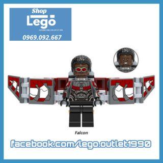 Xếp hình Lego Falcon siêu anh hùng Marvel siêu rẻ Lego Minifigures Xinh Xh829 x0187 thumbnail