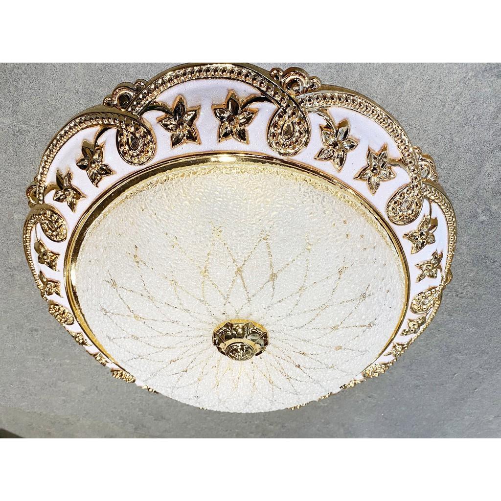 Đèn ốp trần Led, đèn ốp trần nổi trang trí, đèn ốp tròn, ốp trần nổi phi 400mm
