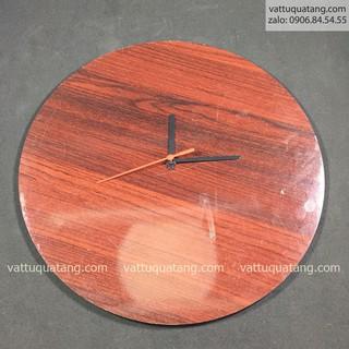 Phôi đồng hồ gỗ tròn 30cm