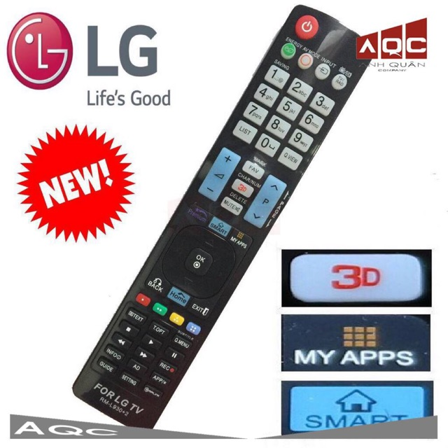 Điều khiển TV LG L930 +2 dùng cho LG Smart Remote TV LG CHÍNH HÃNG CAO CẤP