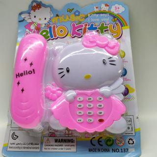 Điện thoại bàn mèo kitty,pikachu