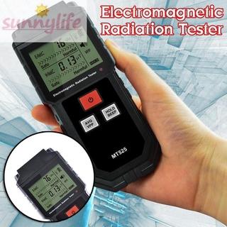 Practical Detector Meter Electric Magnetic Field Double Measurement Data Locking Sound Alarm Digital Electromagnetic
