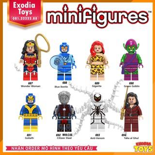 Bộ 8 minifigure nhân vật siêu anh hùng – X0170