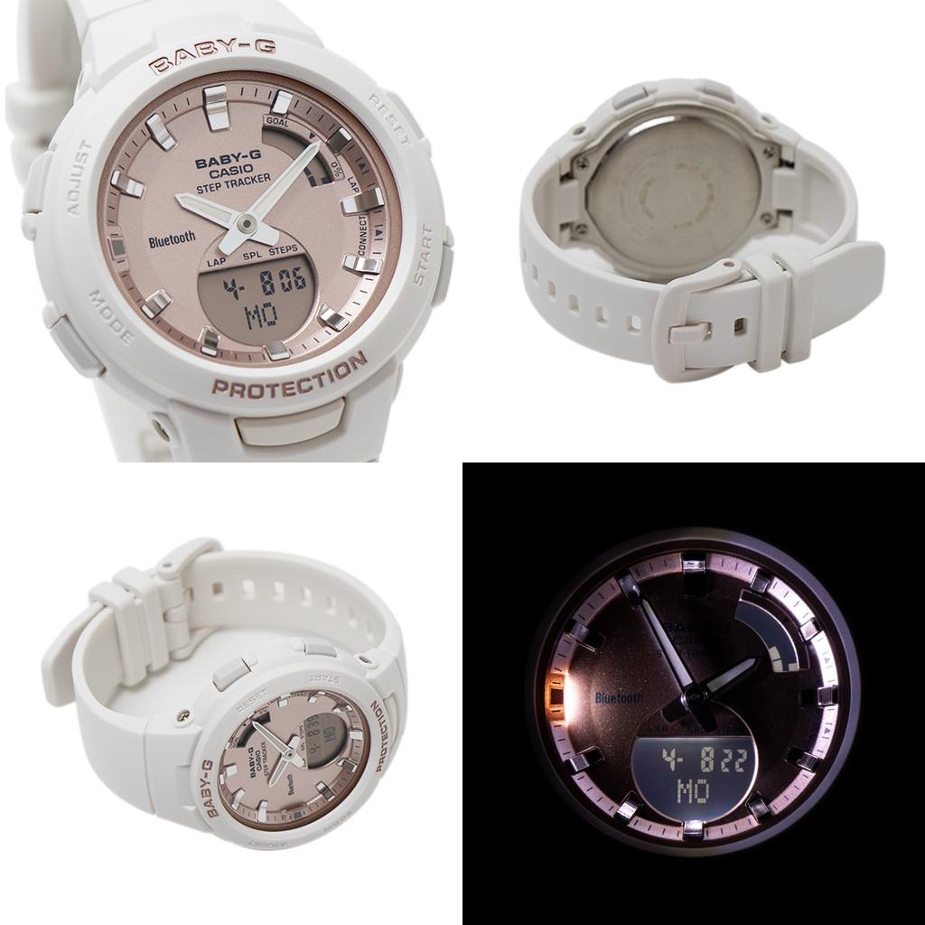 Đồng hỗ nữ Casio G-Baby BSA-B100MF-1ADR & 7ADR Bluetooth thông minh -Chống Nước 10ATM
