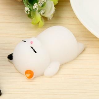 Đồ chơi đàn hồi hình mèo Mochi giúp giảm căng thẳng |Loamini565