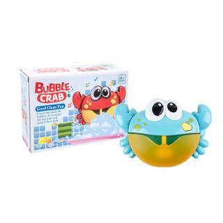 Automatic Bath Bubble Machine Crab Bath Bubble Maker Bath Music Toy for Kids