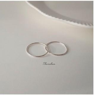 """Nhẫn bạc Tlee, nhẫn tròn trơn basic cá tinh, đơn giản - Tleesilver giá chỉ còn <strong class=""""price"""">100.000.000đ</strong>"""