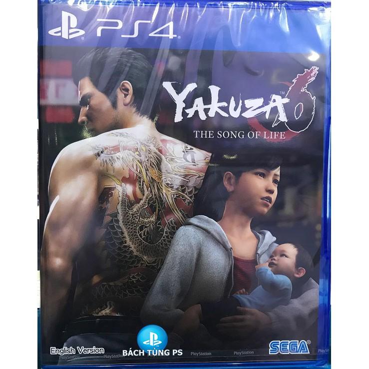 Đĩa game Yakuza 6 : The Song Of Life