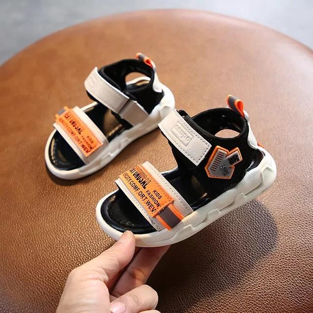 Dép sandal bé trai ❤️FREESHIP❤️Dép sandal quai ngang siêu nhẹ cho bé trai bé gái từ 1-4 tuổi đế mềm mại dễ thương