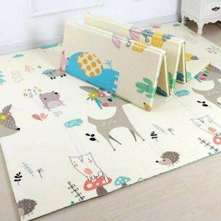 Thảm xốp XPE 2 mặt phủ Silicone Hàn Quốc mẫu đẹp chống thấm 1,8mx2m