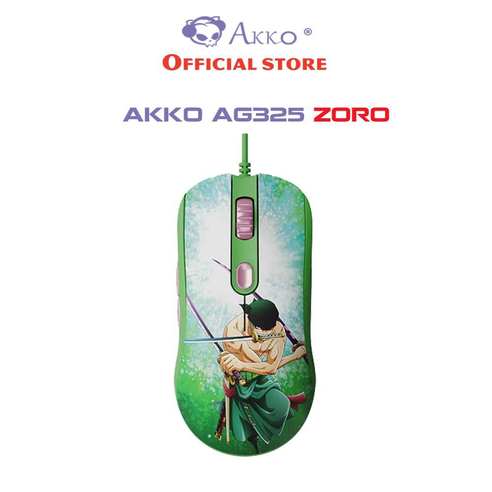 [Mã ELTECHZONE giảm 5% đơn 500K] Chuột chơi game Akko AG325 One Piece – Zoro