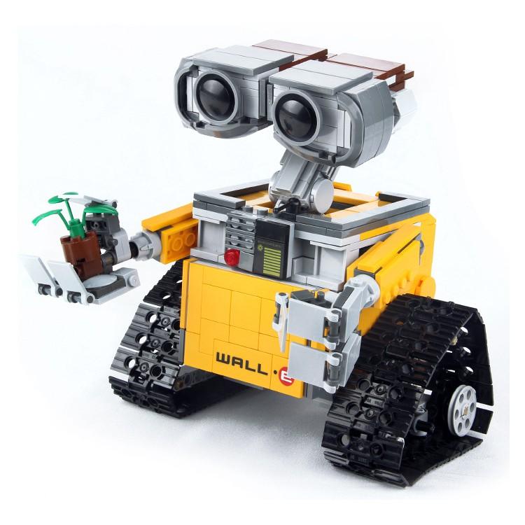 [Hàng có sẵn-Xả hàng tăng doanh số] Bộ đồ chơi Lego Lepin 16003 Lắp Ráp Mô Hình Người Máy Xe Robot WALL.E