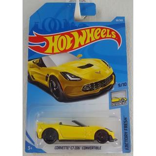 Xe mô hình Hot Wheels Corvette C7 Z06 Convertible FJY20