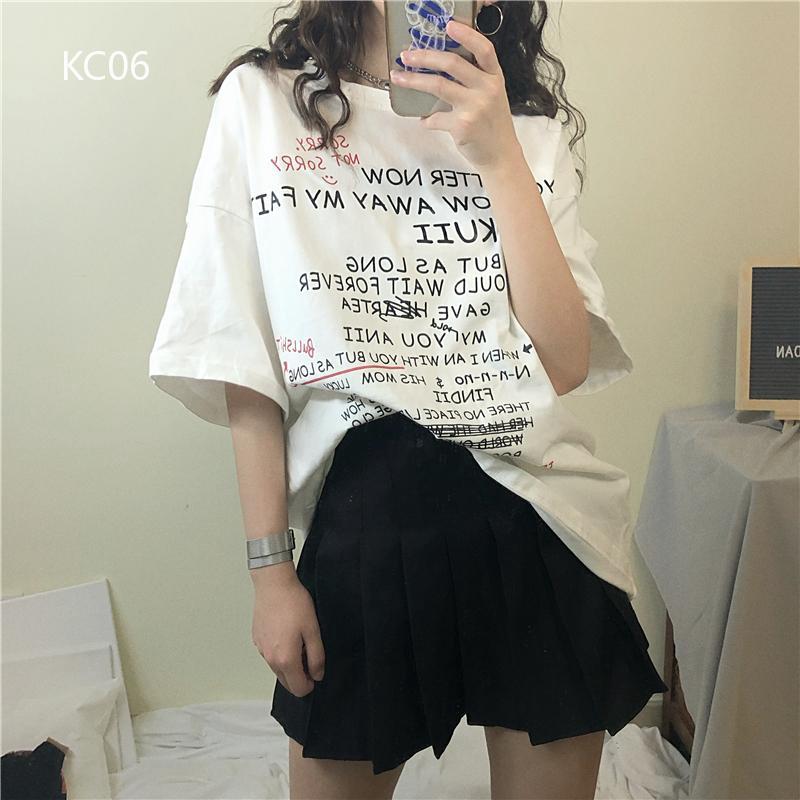 Áo thun nữ tay ngắn có in chữ thời trang phong cách Hàn Quốc - 13738584 , 2038133683 , 322_2038133683 , 200648 , Ao-thun-nu-tay-ngan-co-in-chu-thoi-trang-phong-cach-Han-Quoc-322_2038133683 , shopee.vn , Áo thun nữ tay ngắn có in chữ thời trang phong cách Hàn Quốc