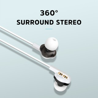 KIVEE MT19 3.5mm In-ear headphones with high fidelity stereo bass suitable for playing sports games