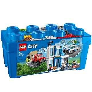 Bộ lắp ráp Thùng Gạch Cảnh Sát – LEGO City 60270 (301 Chi Tiết)