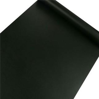 Yêu ThíchGiấy dán tường màu đen trơn bề mặt mịn khổ 45cm keo sẵn - giá bán 1 mét