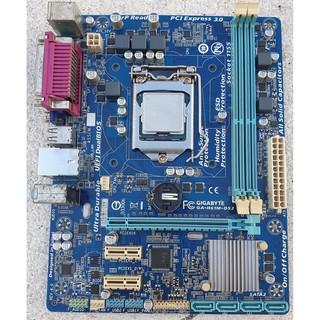 Main Gigabyte H61M-DS2 kèm CPU Intel Core I5 3570 3.4GHz