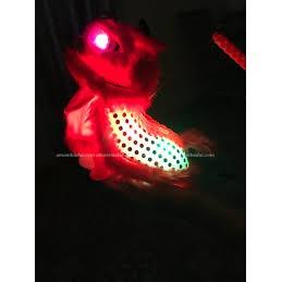 (Đồ chơi giải trí) Lồng đèn con Lân có đèn và nhạc.
