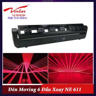 Đèn Moving Laser 6 Đầu Xoay NE 611