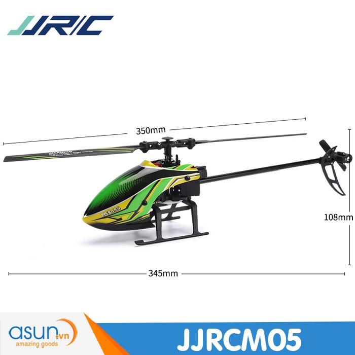 M05 Máy Bay Trực Thăng Điều Khiển Từ Xa JJRC M05 Flybarless Tự Giữ Độ Cao 15-20 phút