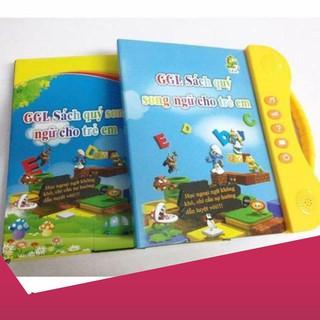 [Giảm 9k cho đơn từ 99k] Sách thông minh Song ngữ điện tử cho bé .