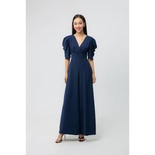 IVY moda Áo liền quần cổ V họa tiết MS 18M5473 thumbnail