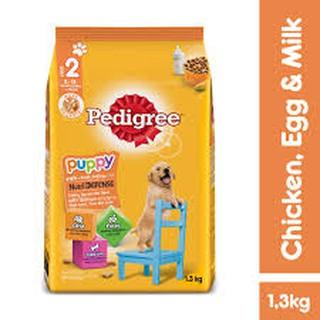 [Mã 157FMCGSALE giảm 8% đơn 500K] Thức ăn chó con Pedigree vị gà trứng sữa gói 1,3kg thumbnail